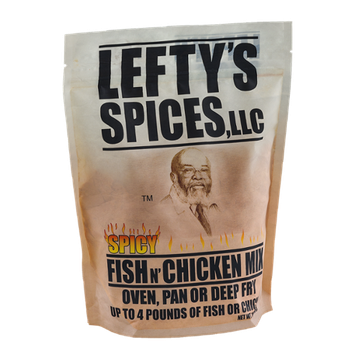 Lefty's Spices Fish N' Chicken Mix Spicy