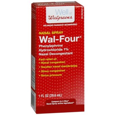 Walgreens Wal-Four Nasal Decongestant Spray