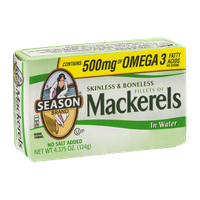 Season Brand Mackerels in Water