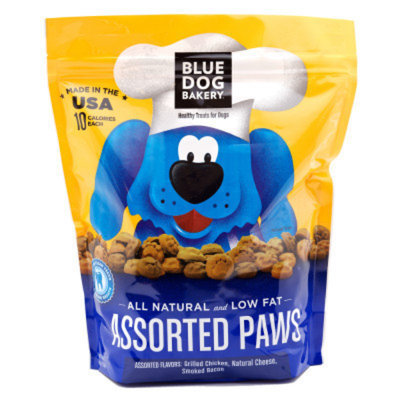 Blue Dog Bakery Paws Dog Treat