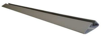 SURFACE SHIELDS ES45 Door Frame Protection, 3.75 Ftx6 In, Gray