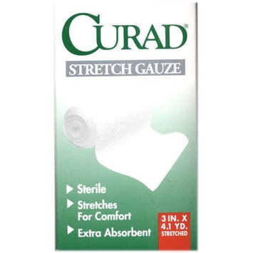 Curad Stretch Gauze Bandage - 3 Inches X 4.1Yards (3 Pack)