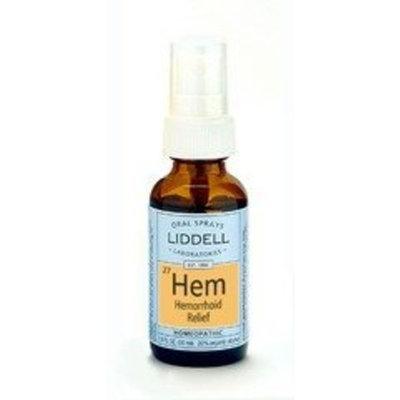 Hemorrhoid Relief Liddell Homeopathic 1 oz Liquid