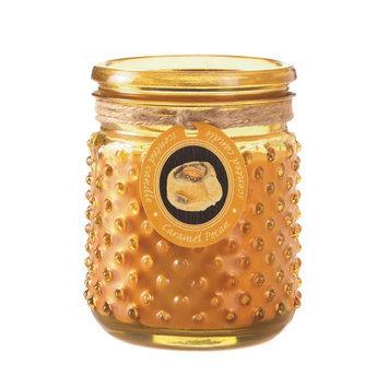 Koehlerhomedecor Caramel Pecan Hobnail Jar Candle
