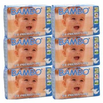 Bambo Nature Premium Eco-Friendly Diapers, 0 Premature, 1 ea
