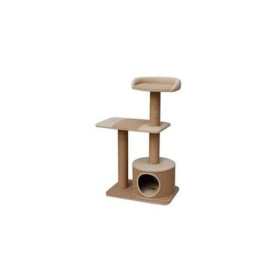 Petpals PP9072MB Recycled Paper Condo With Top Resting Area