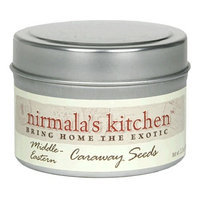 Nirmala's Kitchen Inc. Nirmala's Kitchen Middle Eastern Caraway Seeds, 2-Ounce Tins (Pack of 6)
