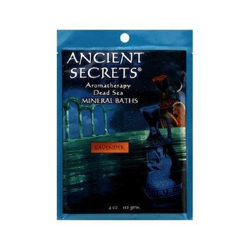 Ancient Secrets Bath Salts Lavender, 4 Ounce