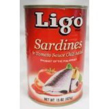 Ligo Sardines In Tomato W/chili 15oz