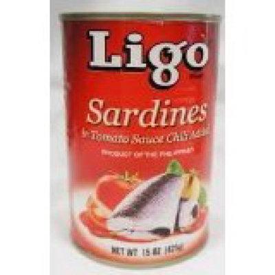 Ligo Sardines In Tomato W/chili 15oz