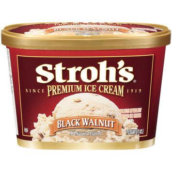 Stroh's Premium Black Walnut Ice Cream, 1.5qt