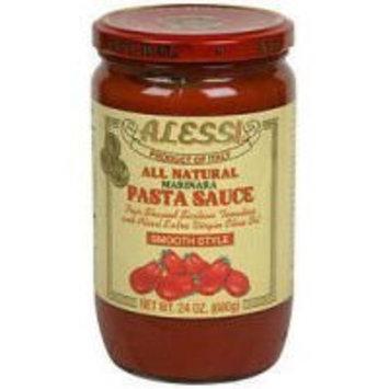 Alessi Smooth Marinara Pasta Sauce, 24 Ounce -- 6 per case.