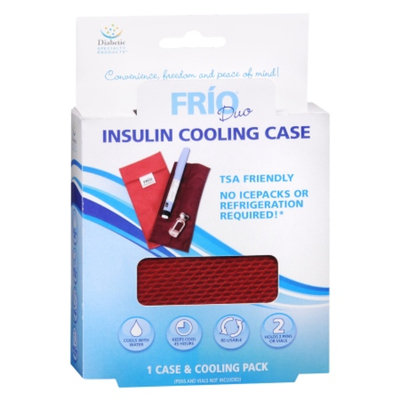 Apothecary Frio Insulin Cooling Case, Red, 1 ea