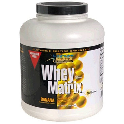 ISS Research Whey Matrix, Banana, 5-Pound Jar