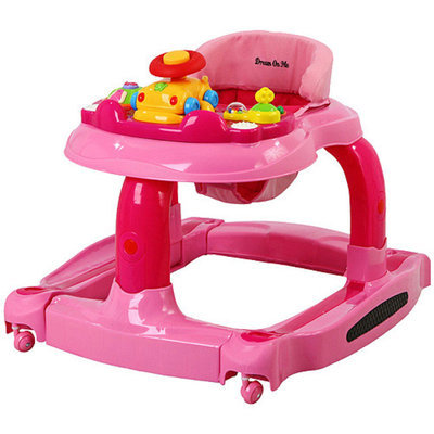 Dream on me Dream On Me - 2-in-1 Baby Tunes Musical Activity Walker and Rocker, Pink