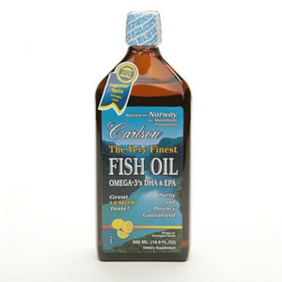 Carlson The Very Finest Fish Oil Omega-3's DHA & EPA