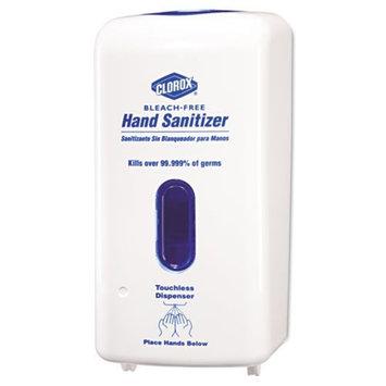 Clorox No-Touch Hand Sanitizer Dispenser, Adjustable Sensor, White