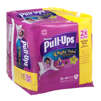Pull-Ups® Night*Time Training Pants Disney Glow in The Dark for Girls 3T-4T
