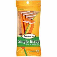 Personna Single Blade Shaver For Sensitive Skin Razors