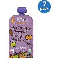 Ella's Kitchen Sweet Potatoes Pumpkin Apples & Blueberries Stage 1 Baby Food