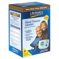 LifeSource One-Step Memory Auto Blood Pressure Monitor - Medium Cuff