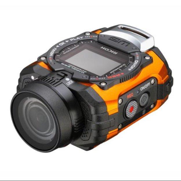 Ricoh WG-M1 Kit Orange 14-megapixel Action Camera