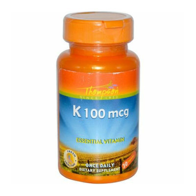 Thompson Nutritional Thompson K 100 mcg 30 Capsules