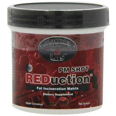 Controlled Labs Pm Shots REDuction, Apple Cinnamon, 65 grams, ( 30 Servings per Container)