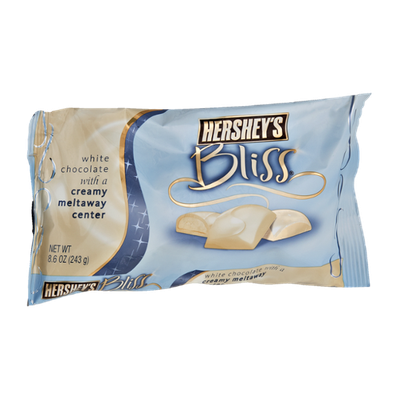 Hershey's Bliss White Chocolate with a Meltaway Center Candy
