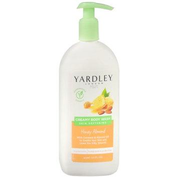 Yardley of London Creamy Body Wash, Honey Almond, 16 oz