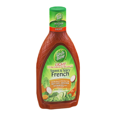 Wish-Bone Light French Dressing Sweet & Spicy