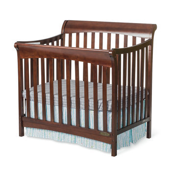 Foundations Worldwide, Inc. Child Craft Ashton Mini 4-in-1 Convertible Crib in Select Cherry