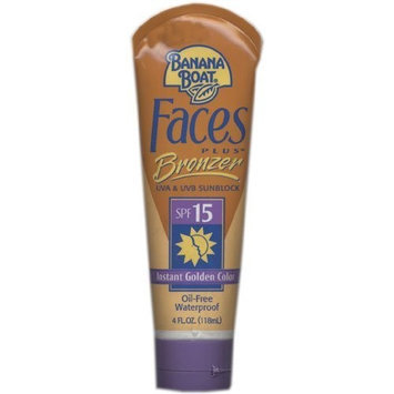 Banana Boat Faces Plus Bronzer With SPF 15