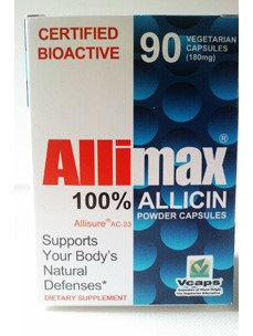 Allimax 180 mg 90 vcaps by Allimax International Limited