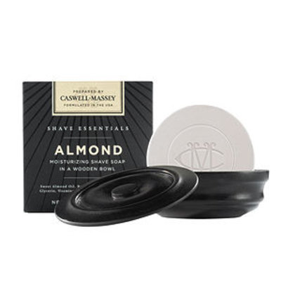 Caswell-massey Caswell-Massey Almond Moisturizing Shave Soap In A Wooden Bowl