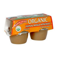 Vermont Village Cannery, Applesauce Cup Mango Org 4Pk, 16-Ounce (12 Pack)