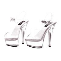 Buy Seasons Brook Clear Adult Shoes - 8.0