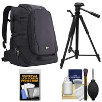 Case Logic DSB-103 Luminosity Digital SLR Camera Backpack Case (Black) with Tripod + Accessory Kit
