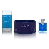 Bvlgari BLV Homme by Bvlgari for Men 2 Piece Set Includes: 0.17 oz Eau de Toilette Collectible + 1.0 oz Shampoo and Shower Gel