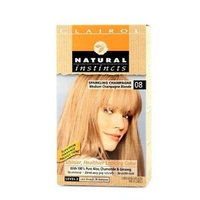 Clairol Natural Instincts 08 Sparkling Champagne Medium Champagne Blonde