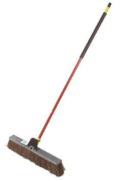 Quickie Brooms & Mops Bulldozer 24 in. Palmyra Push Broom 00636RM