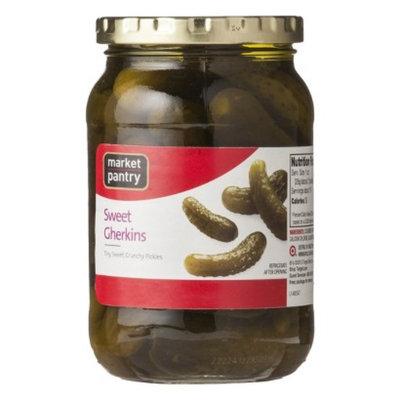 Market Pantry Sweet Gherkins - 16 oz.