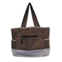 Trend Lab Tulip Tote Style Diaper Bag, Sweet Safari Pink