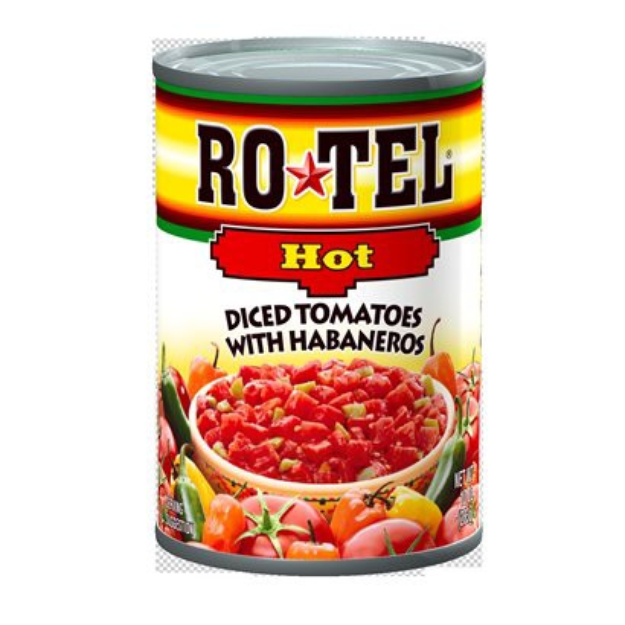 Rotel Extra Hot Diced Tomatoes & Chili Peppers 10oz