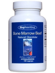 Nutricology/allergy Research Bone Marrow Beef Glandular Nutricology (Allergy Research) 100 VCaps