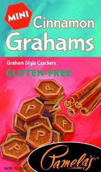 Pamela's Products GRAHAMS, CINNAMON, MINI, GF, (Pack of 6)