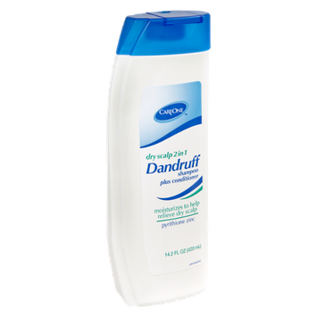 CareOne Dry Scalp 2 in 1 Dandruff Shampoo Plus Conditioner