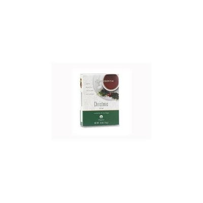 Davidson's Tea Davidson Organic Tea 886 Christmas Tea, Box of 8
