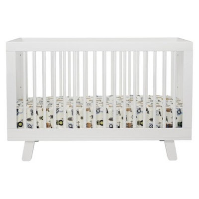 Babyletto 3-in-1 Convertible Crib with Toddler Rail - White