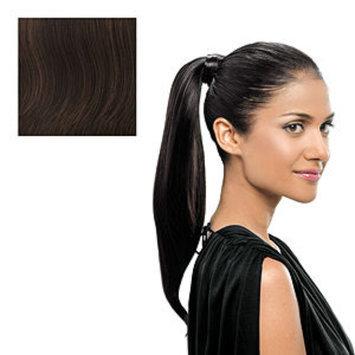 hairdo. Simply Straight Wrap Around Pony